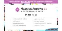 Massive addons for visual pack woocommerce composer