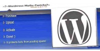 Maths wordpress captcha protection