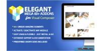 Mega elegant addons composer visual for