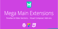 Mega main extensions parallax addons vc video