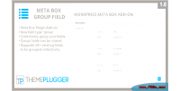 Meta box group field wordpress meta on add box