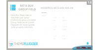 Meta box group field wordpress meta on add box