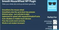 Mousewheel smooth wordpress plugin