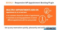 Multiply bookly appointments on add