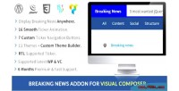 News breaking addon composer visual for