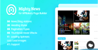 News mighty addons for wpbakery builder page formerly composer visual