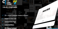One page builder addons composer visual for one