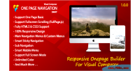 One page navigation addon composer visual for one