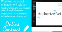 Online wp payments authorize.net contract