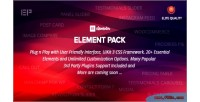 Pack element addon for page elementor plugin wordpress builder