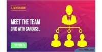 Page elementor builder meet team the carousel with grid