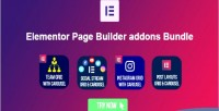 Page elementor bundle addons builder