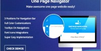 Page one navigator composer visual for