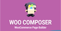 Page woocomposer woocommerce for builder
