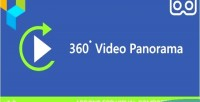 Panorama 360 video addon composer visual