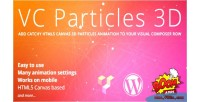 Particles vc 3d background