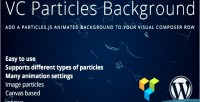 Particles vc background