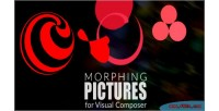 Pictures morphing composer visual for