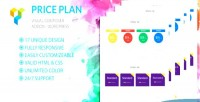 Plan price visual plugin composer wordpress addon
