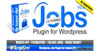 Plugin jobs for wordpress