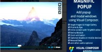 Popup magnific vc addon