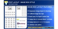 Post layout image box composer visual for