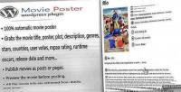 Poster movie wordpress plugin