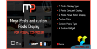 Posts mega display composer visual for