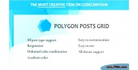 Posts polygon grid composer visual for