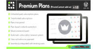 Premium privatecontent on add plans