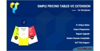 Pricing simple tables composer visual for