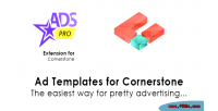 Pro ads ad extension cornerstone templates