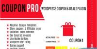 Pro coupon wordpress plugin deals coupon