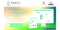 Product fancy designer add pricing wordpress woocommerce on