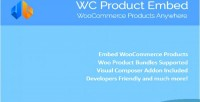 Product wc embed