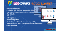 Product woocommerce layouts