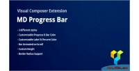 Progress md bars composer visual for