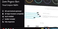 Progress zoom bars addon composer visual
