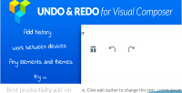 Redo undo for visual best composer on add productivity