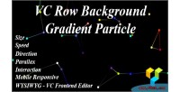 Row vc particle gradient background
