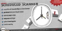 Scheduled scanner add on ninja security for