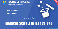 Scroll magic scrolling animation addon composer visual