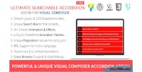 Searchable ultimate accordion addon composer visual