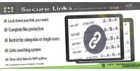 Secure privatecontent on add links