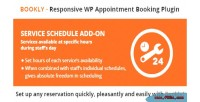 Service bookly schedule on add