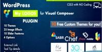 Showcase logos for wordpress composer visual