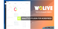 Simple wolive powerful wordpress for analytics