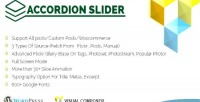 Slider accordion composer visual for