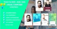 Slider team team showcase team builder member team slider for wo composer visual