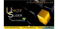 Slider unique visual slider perspective composer